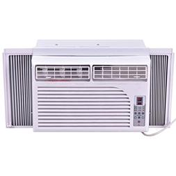 10000 BTU 115 V White Compact Window-Mounted Air Conditioner