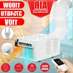 1000W Portable Window Air Conditioner Cooling Heat Timing De