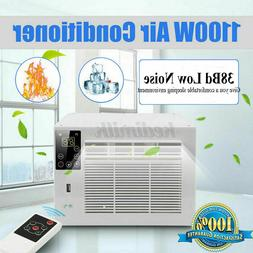 1100W Portable Window Air Conditioner Cooling Heat Timing De