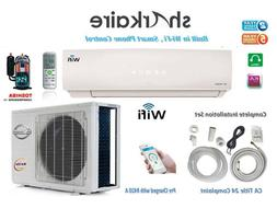 12000 BTU Mini Split  Ductless Air Conditioner with full ins