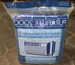 2000 window air conditioner washable