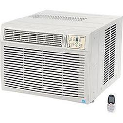 230/208V Window Air Conditioner with Heat, 18, 500 BTU Cool,