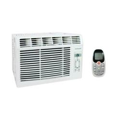 5,000 BTU 115-Volt Window-Mounted Air Conditioner with Follo