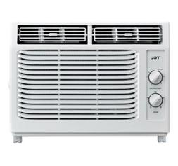TCL 5,000 BTU WINDOW AIR CONDITIONER Mechanical White 150 Sq