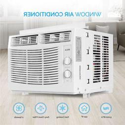 DELLA 5,000 BTU Window-Mounted Air Conditioner AC Unit Cool
