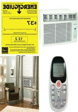 5000 BTU 115V Window-Mounted Air Conditioner with Follow Me