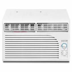 5000 BTU White Compact 115V Window-Mounted Air Conditioner w