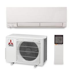 Mitsubishi 9,000 BTU 30.5 SEER Wall Mount Heat Pump 208/230V