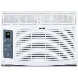 Haier - 8,000 BTU Window Air Conditioner - Gray/White