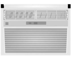 Midea KWDUK-08CRN1-BCL0 Remote Window AC - 8000 Btu per Hour