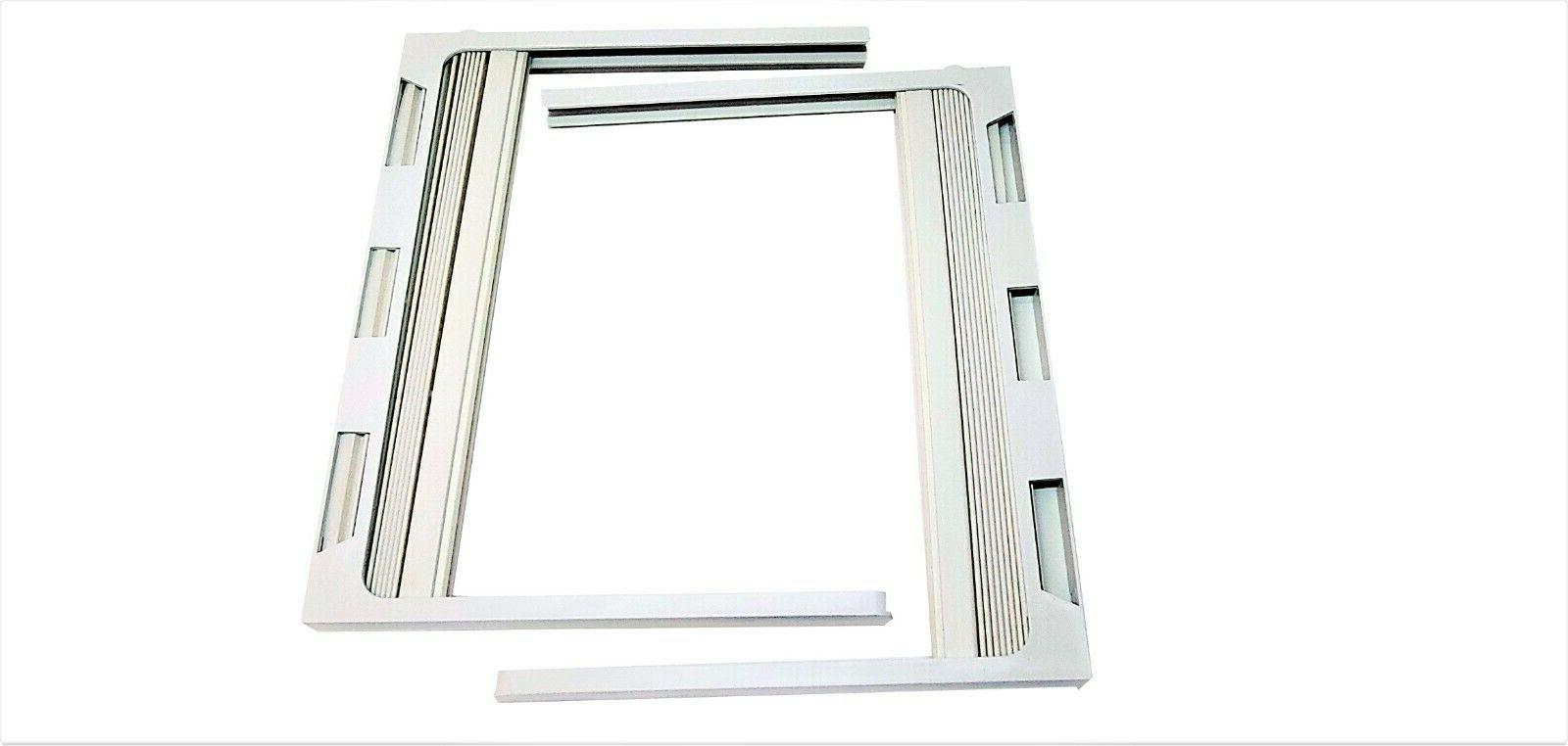 1 pair air conditioner window frames