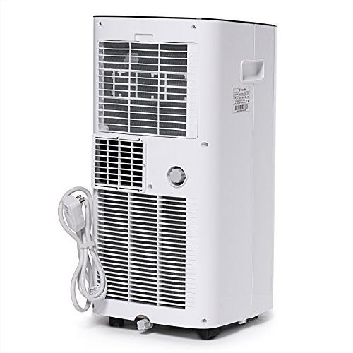 Ivation 10,000 BTU Air Conditioner Single-Hose Unit Dehumidifier Function 400