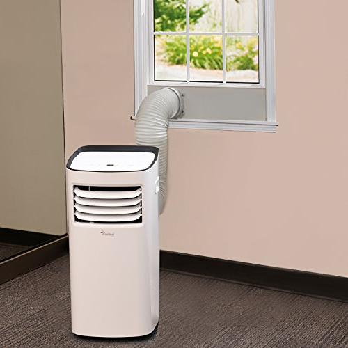 Ivation 10,000 BTU Air Single-Hose Dehumidifier w/Remote Control, LED Function - Coverage