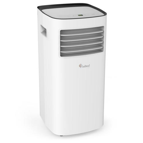 Ivation Portable Air Single-Hose Unit & Dehumidifier w/Remote Function - Coverage