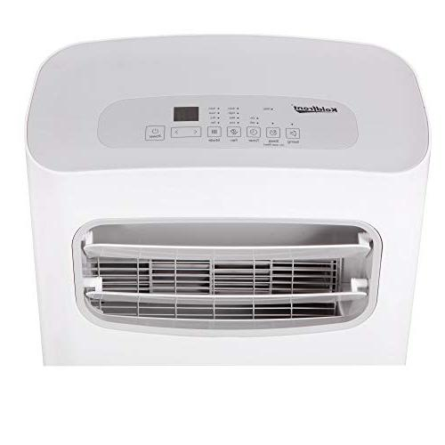 Koldfront PAC802W Air Conditioner with Dehumidifier and Fan for Rooms to Sq. Ft. with Control