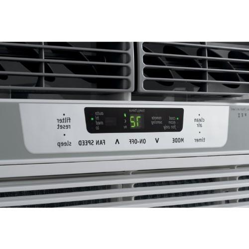 Frigidaire 18,000 BTU Window-Mounted with Temperature Control