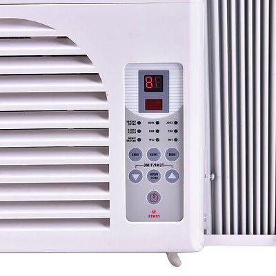 6000/8000/10000 BTU Compact 115V Window-Mounted Conditioner Control