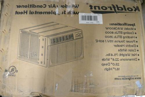 Koldfront 8,000 Air Conditioner with Heat