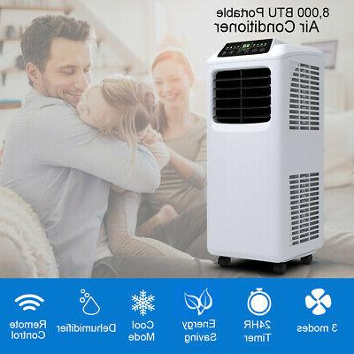 8000 BTU Air Conditioner & Remote Window Kit