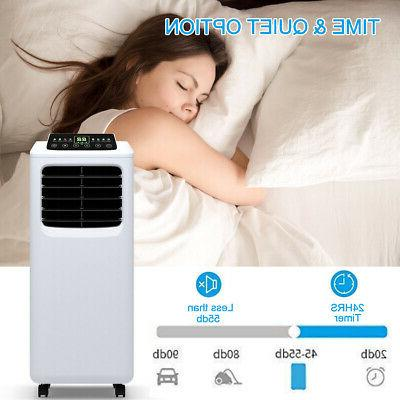 8000 BTU Conditioner Dehumidifier Function Remote
