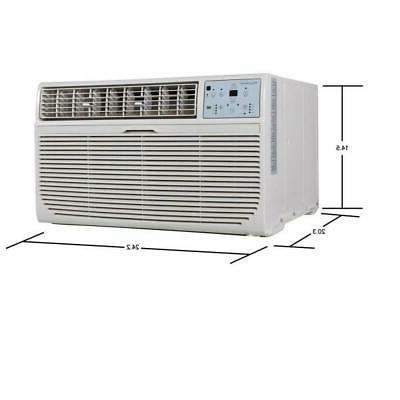 keystone 12000 btu 230v through the wall air conditioner hea