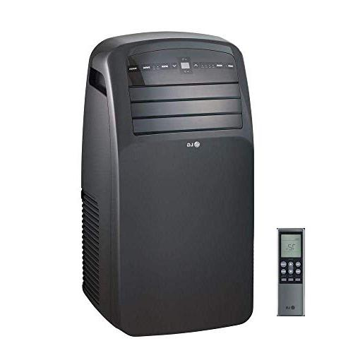 LG LP1215GXR Air Conditioner with Remote Black Rooms to Ft.