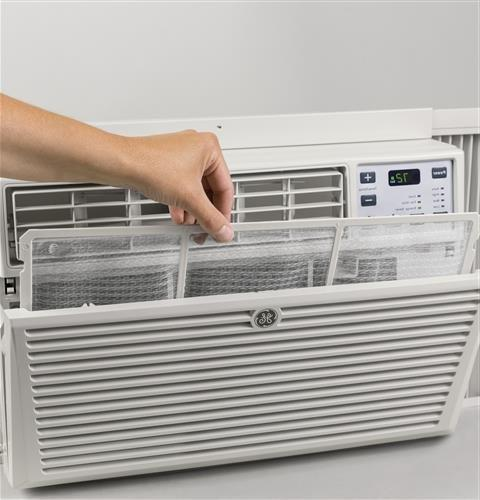 GE AEM06LX Air Conditioner Cooling Gray