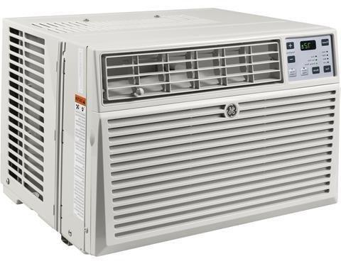 GE Window Air Conditioner Cooling Energy Star Qualified Light Cool Gray
