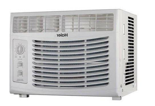 Air Conditioner Window AC Unit, BTU 115V, HWF05XCR-L, 11.0 SEER, SQ FT