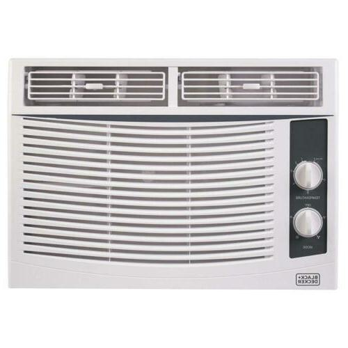BLACK+DECKER BWAC05MWT 5,000 BTU Mechanical Window Air Condi