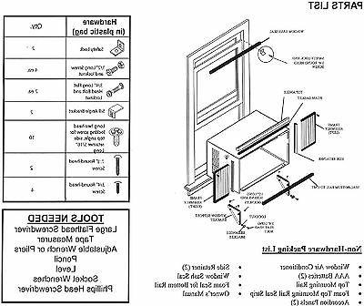 Cool Living Energy Star Efficient Window AC