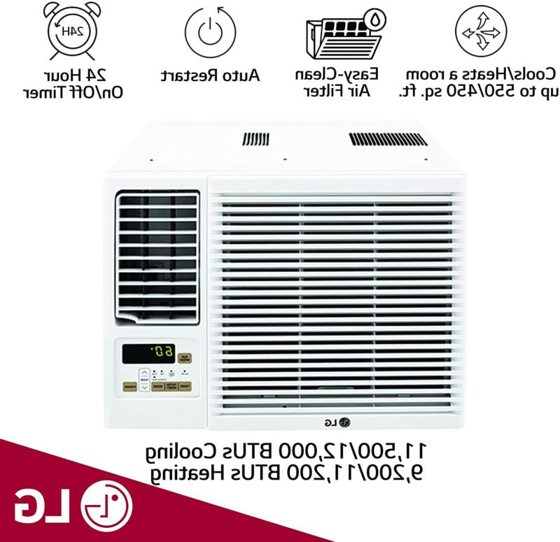LG 12,000 Window-Mounted AIR with 11,200 BTU