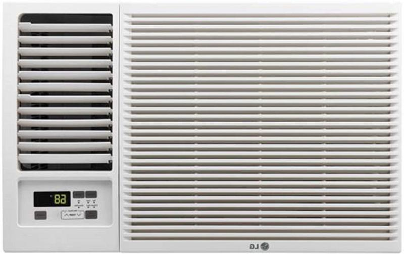 LG 12,000 Window-Mounted Conditioner with 11,200 BTU Heat Function