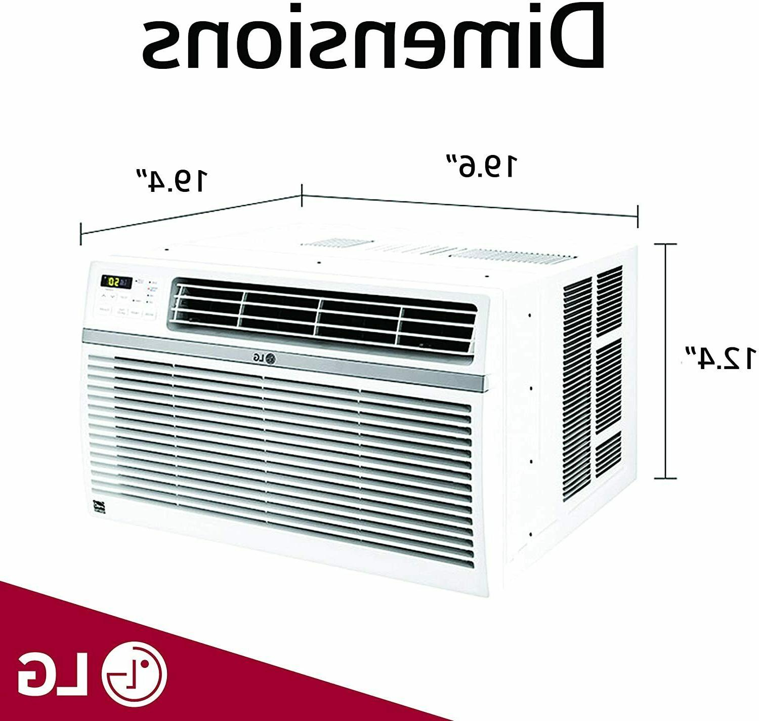 LW8016ER Window-Mounted Control Air Conditioner,