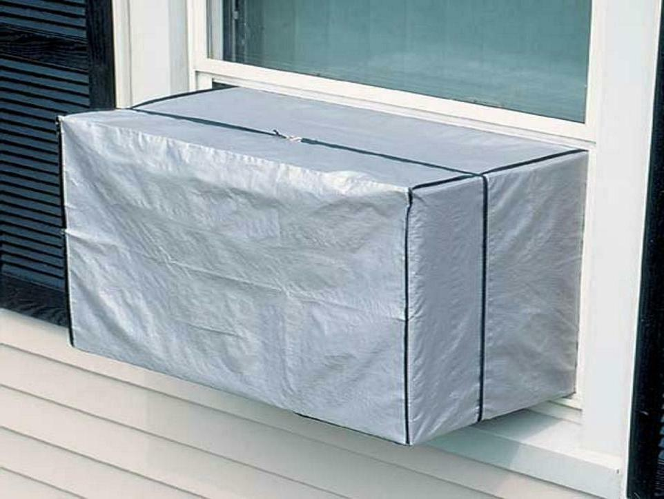 Outdoor Window AC Air Conditioner Cover for Window Units to BTU