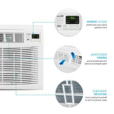 Remote Control 12000 Window Mounted Air Conditioner 550