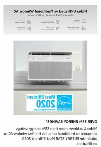 Midea Air Conditioner 8,000BTU, smart control, Alexa