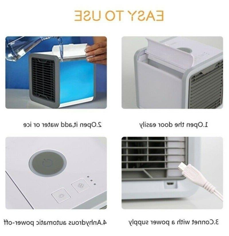 USB Portable Fan Air Conditioner Colors Cooling