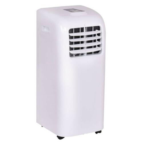 white color portable air conditioner cooler dehumidifier