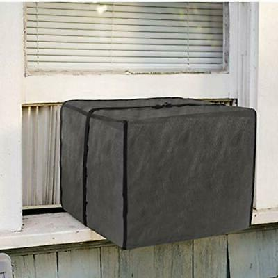 window air conditioner cover grey small home