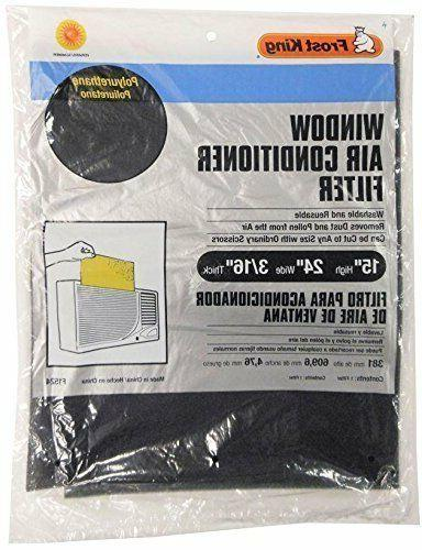 WINDOW AIR CONDITIONER FILTER Reusable Washable Cut-to-Size