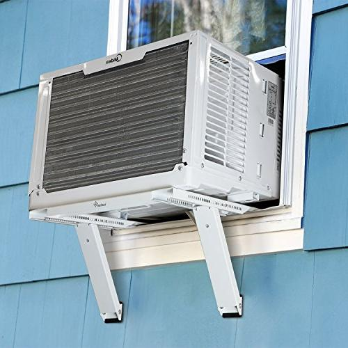 Ivation Window Air Mounting Support – Easy To Install Universal AC Tools Required To 200 lbs – Fits Single Hung