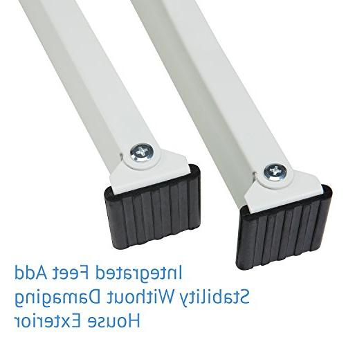 Ivation Conditioner Mounting Support – Easy Install Required – Heavy Steel Construction Holds To 200 Fits Or Hung
