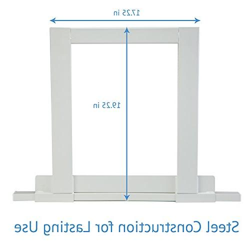 Ivation Window Conditioner Mounting Support Bracket Easy To AC Mount, Required Steel Construction Holds Up To 200 Fits Single Hung Windows