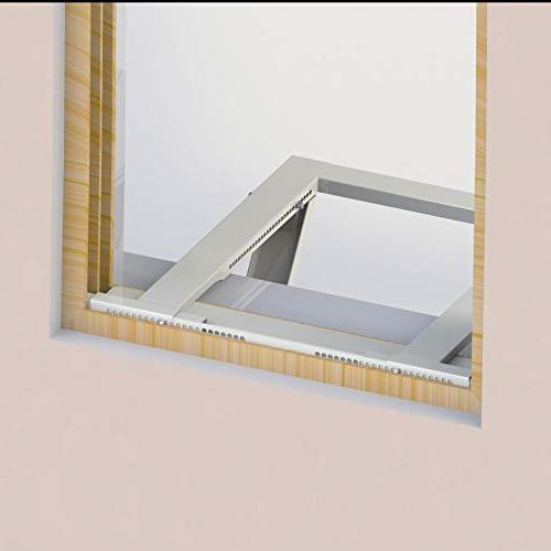 Ivation Window Mounting Support Easy Install AC Mount, Required – Steel Construction Holds To Fits Or Double Hung