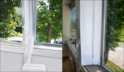 Window for AC For Portable Conditioner – AC Zip and – Best Seal With Maximum
