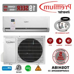Premium 12000 BTU Mini Split Air Conditioner Inverter Heat P
