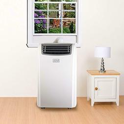 Portable Air Conditioner 14000BTU w/ Window Kit Remote LED D
