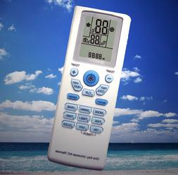 Universal AC A/C Remote- Carrier,Gree,LG,Midea,TCL,Whirlpool