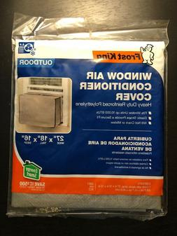 "18""x 27""x 16"" Vinyl Outside Window Air Conditioner Cover for"